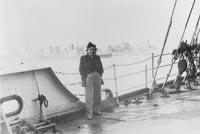 Lena Goldstein an Bord der SS Continental