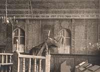 Innenraum der Synagoge Bechhofen (Foto: Archiv Markt Bechhofen)