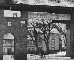 Geschichte Israel: Jüdische DP-Lager und Gemeinden in der US-Zone Eingang600-250x203